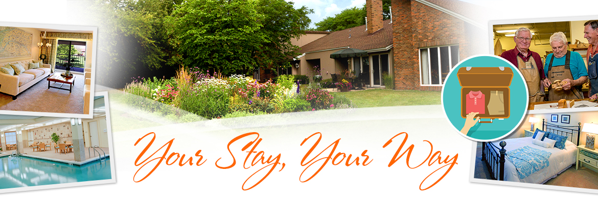 Plan Your Stay, Your Way at Covenant Village of Northbrook